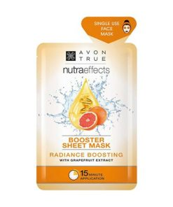AVON True Nutra Effects Radiance Boosting Sheet Mask