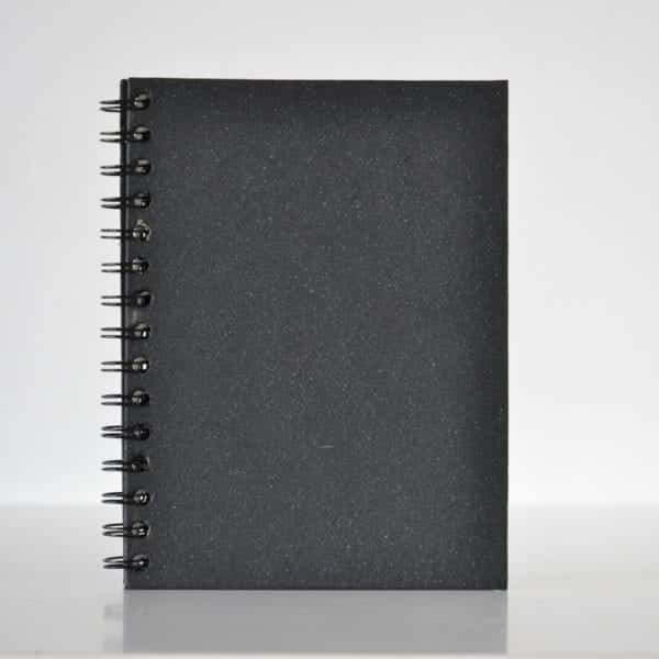 Plain Notebook Black