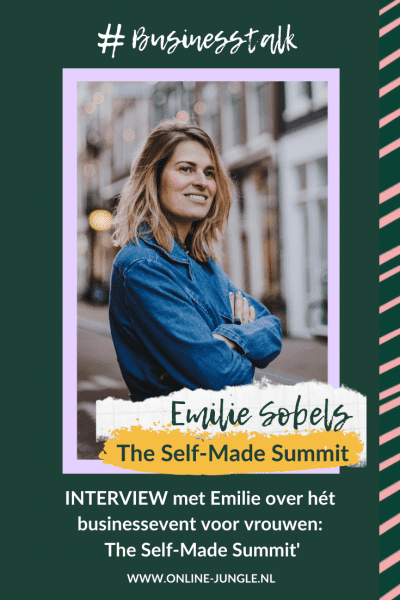 Emilie Sobels, The self-made summit