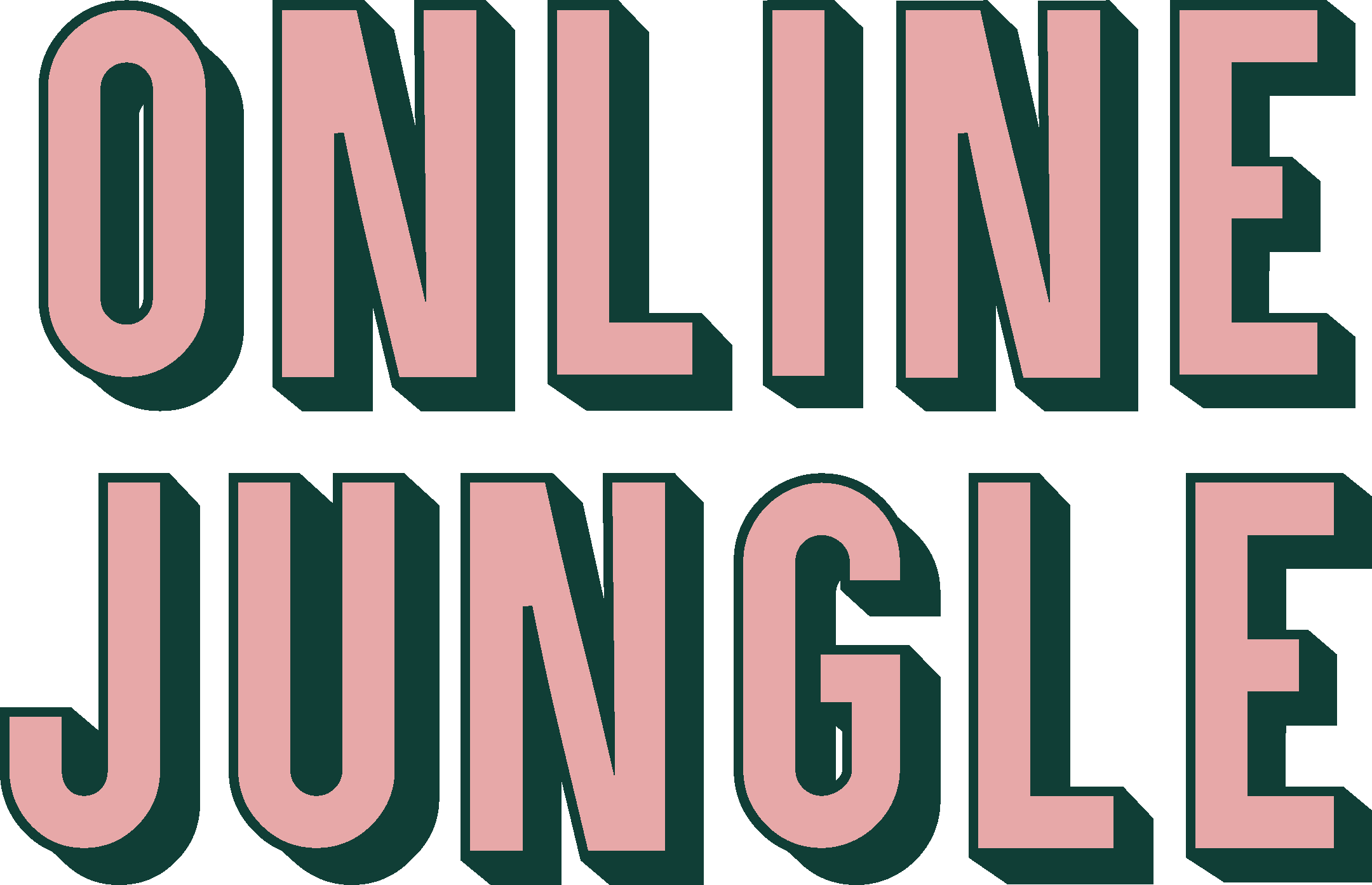 Online Jungle. Logo