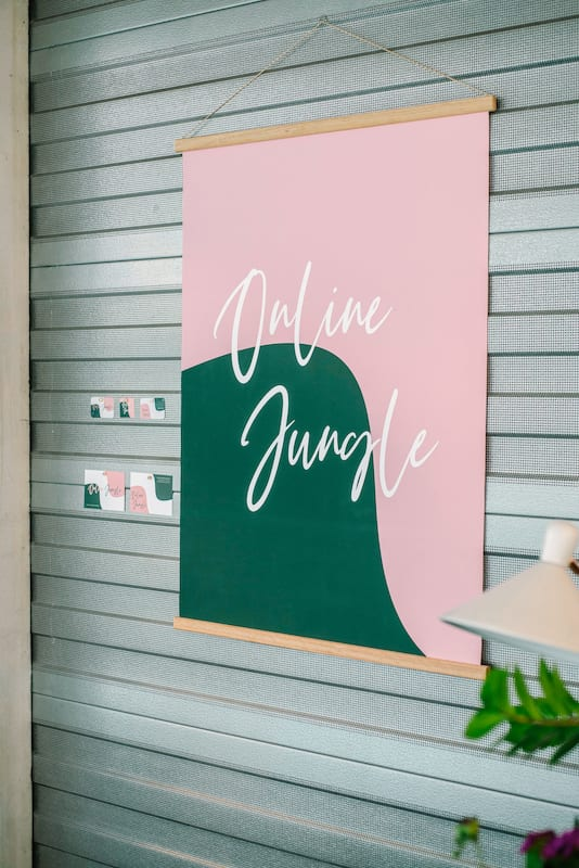 Online Jungle branding